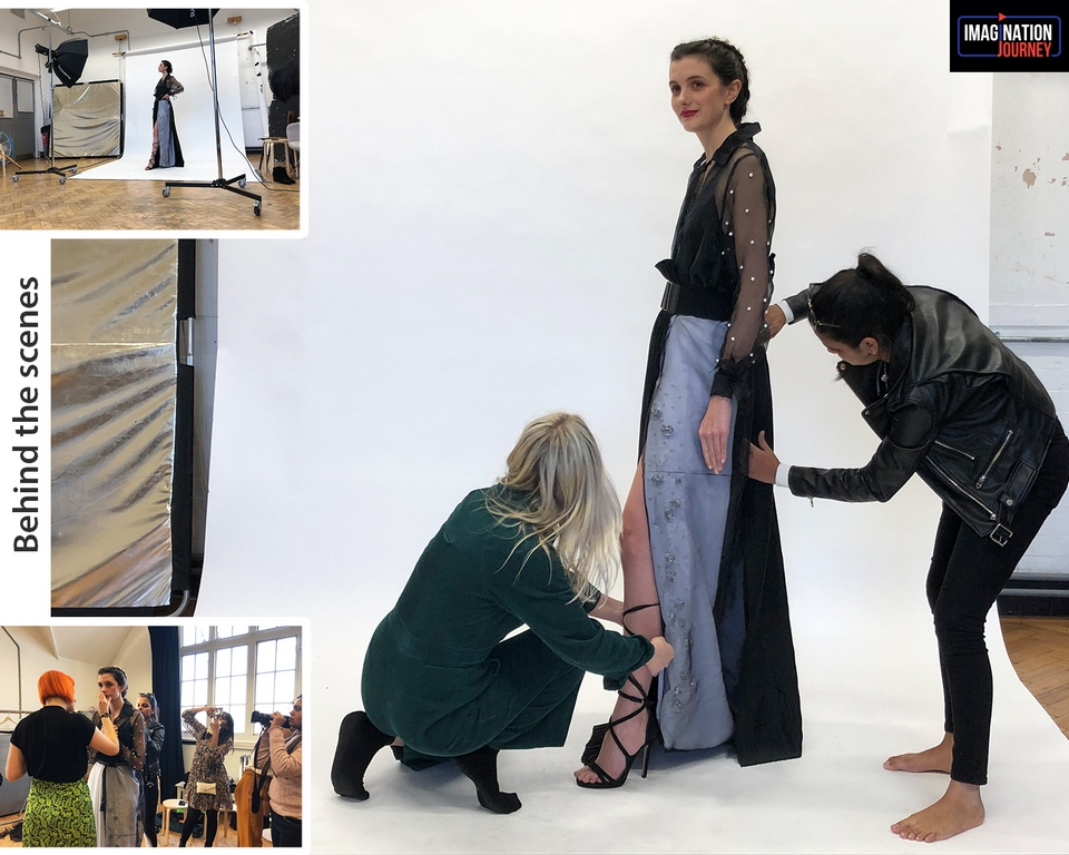 behind the scenes fashion styling - behind the scenes - A JOURNEY IN STYLE!