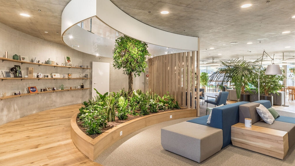 office space with Bipohilic Design biophilic design - office space with Bipohilic Design - Biophilic Design – A Nature Oriented Interior Design