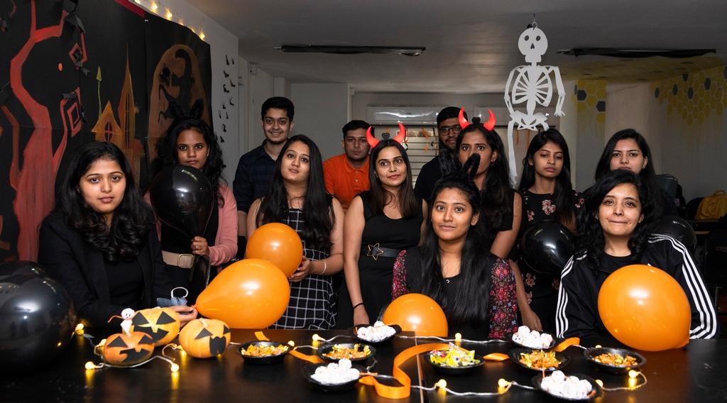 Halloween Decoration halloween - Halloween Decoration - HALLOWEEN FESTIVITIES AT JD INSTITUTE OF FASHION TECHNOLOGY, BANGALORE