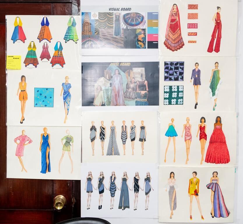 DIPLOMA IN FASHION DESIGN MAKE A CREATIVE SPLASH diploma in fashion design - Illustration Boards 1 - DIPLOMA IN FASHION DESIGN MAKE A CREATIVE SPLASH