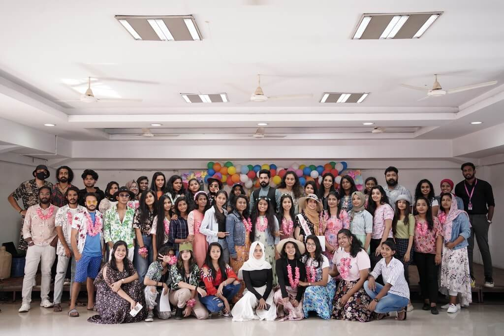 aloha - Group picture - ALOHA 2021 – JD INSTITUTE COCHIN WELCOMES FRESHERS